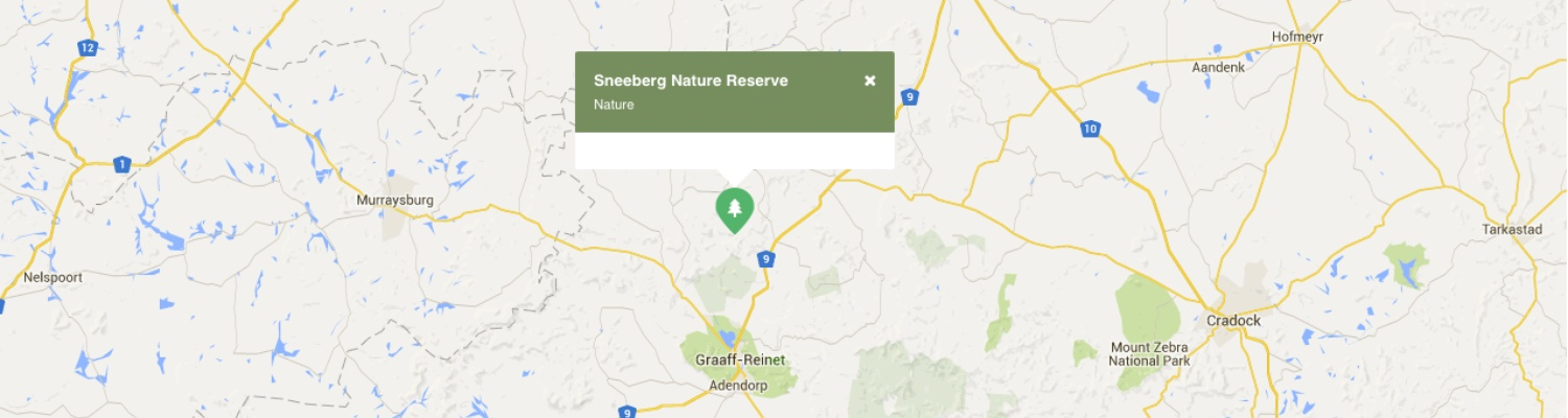 Day trips in area Sneeuberg