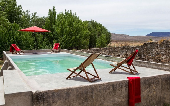 romantic retreat in the karoo near Graaff-Reinet