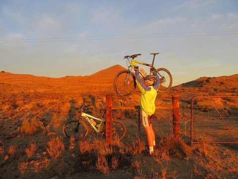 mountain biking karoo