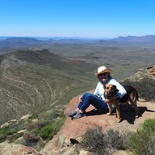 karoo view from mountain top accommodation
