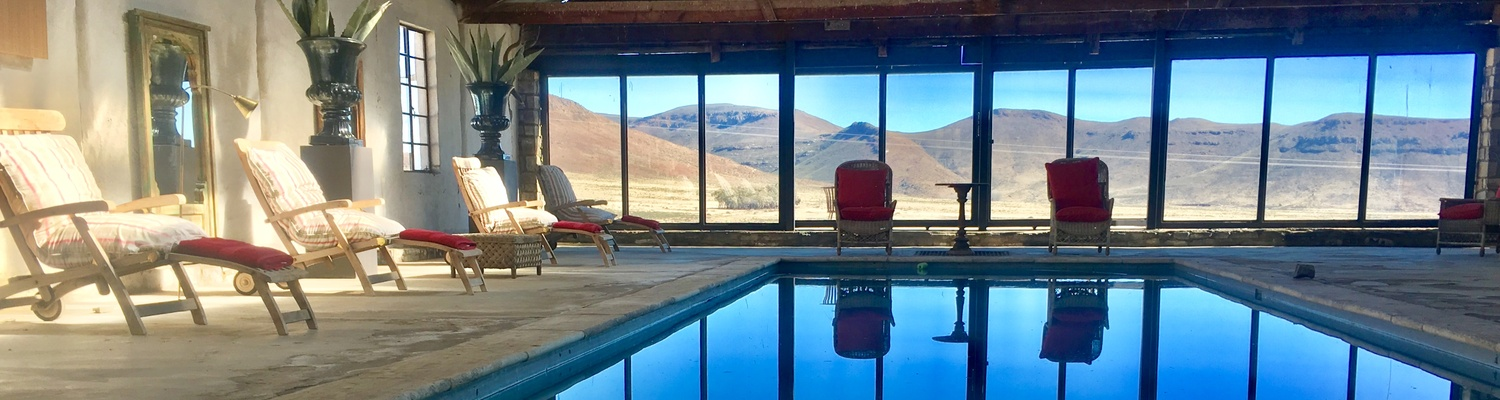 karoo cottage with swimming pool